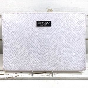 Jimmy Choo Snake Skin Makeup Bag/Clutch